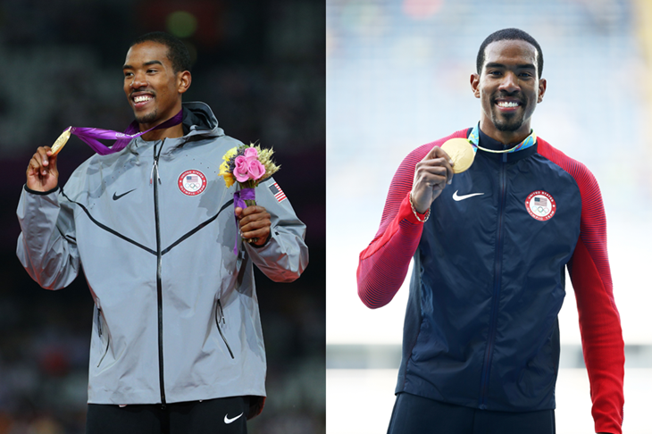 Christian Taylor Olympic Podiums ()