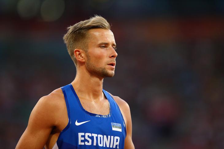 Rasmus Mägi at the 2015 Beijing World Championships ()