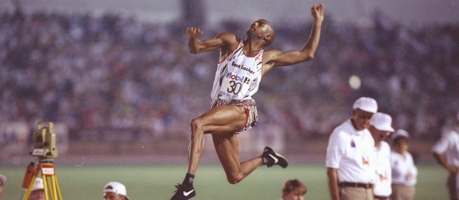 Mike Powell S Long Jump Ambition Spikes
