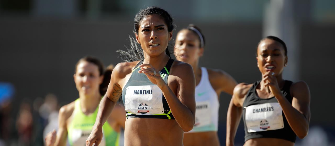 Brenda Martinez competes in the 2017 US Championships (Getty Images)