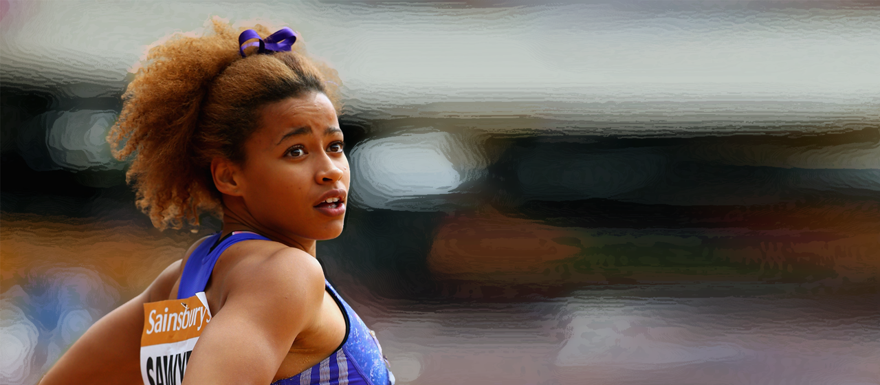 Jazmin Sawyers during the London Anniversary Games (Getty Images)