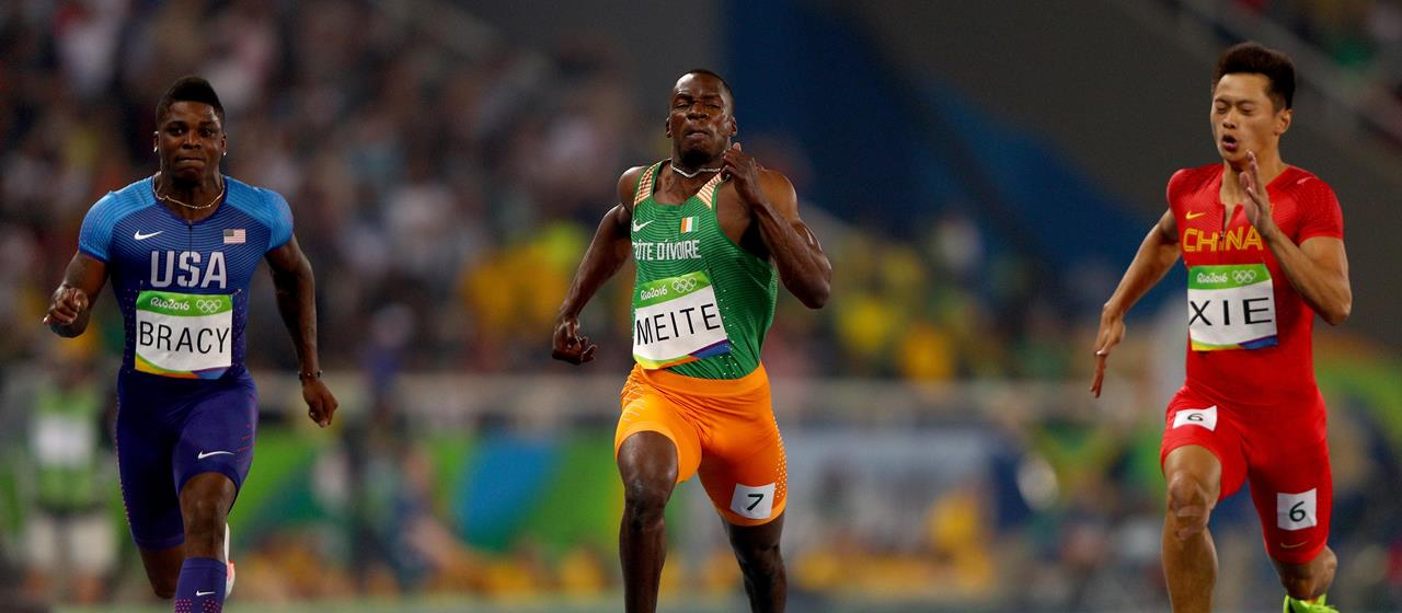 Ben Youssef Meite competes at the 2016 Olympics in Rio (Getty Images)