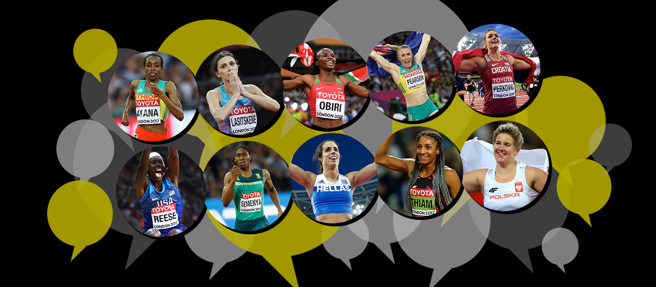 Women's Nominees Athlete of the Year 2017 (Getty Images / SPIKES)