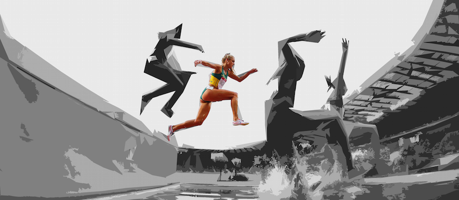 Genevieve LaCaze at the 2014 Commonwealth Games ()