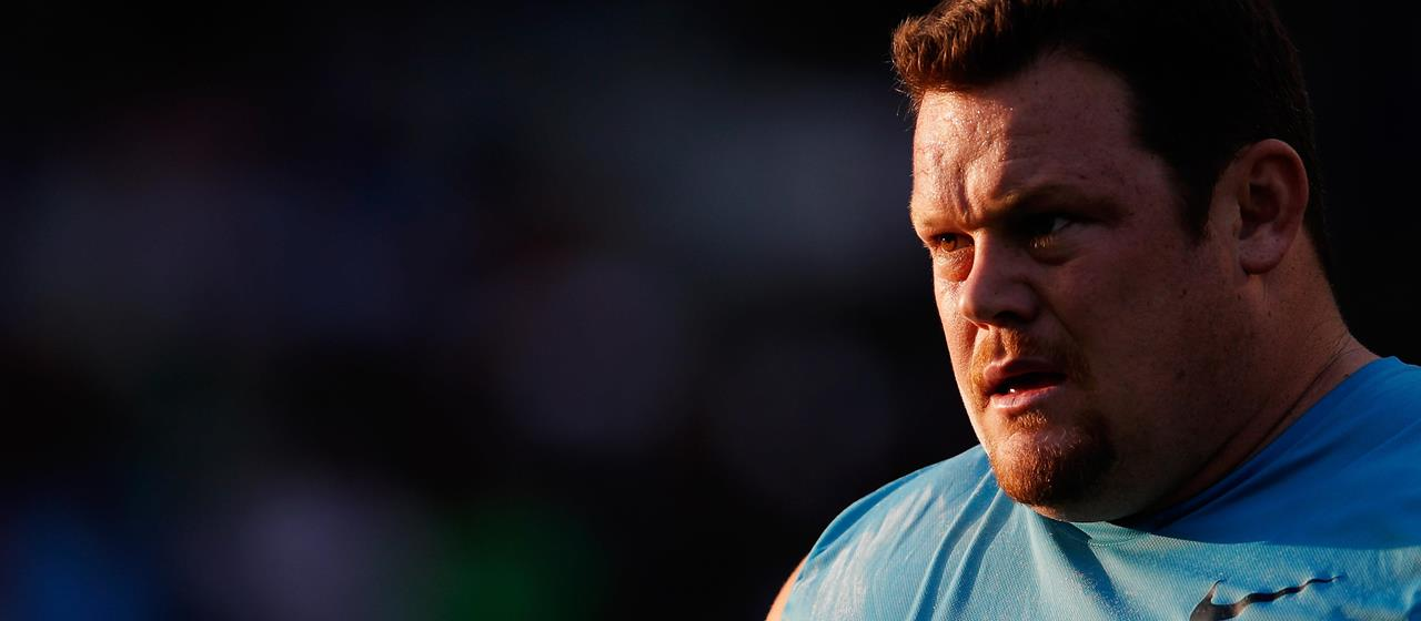 Canadian shot putter Dylan Armstrong ()