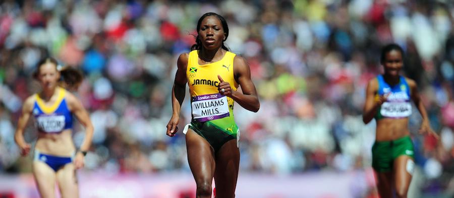 Novlene Williams-Mills London ()