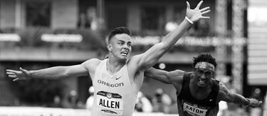 Devon Allen wins the 110m hurdles at the 2016 US Trials (Getty Images)