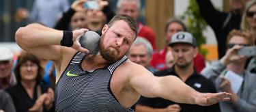Tom Walsh competes at The Big Shot and Fast K (Getty Images)