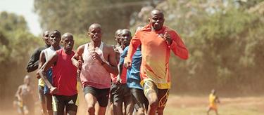 Kenyan distance runner Julius Arile Lamerinyang (Georgina Goodwin)