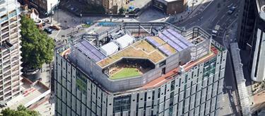 London's highest running track (Derwent London)