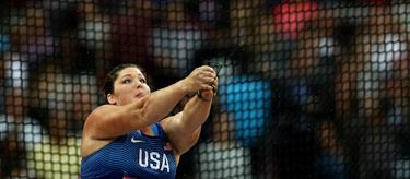 Deanna Price at the IAAF World Championships in London  (Getty Images)
