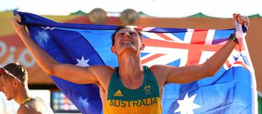 Dane Bird-Smith celebrates bronze in Rio (Getty Images)