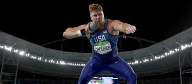 Ryan Crouser in action at the 2016 Olympic Games (Getty)