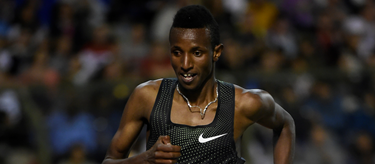 Selemon Barega competes at the Brussels Diamond League 2018 (AFP / Getty Images)