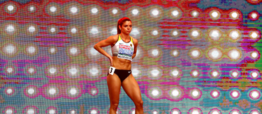 Pamela Dutkiewicz at the European Indoor Championships (Getty Images)