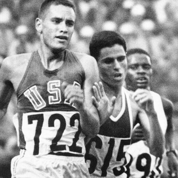 Billy Mills at the 1964 Olympic Games (AFP / Getty Images)